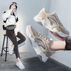 FRAISO - 拼色運動鞋