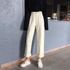 Moon City - Straight-Fit Jeans