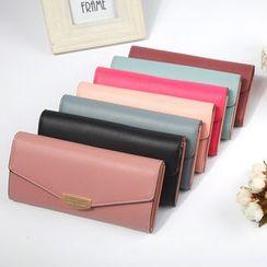 Tauran - Faux Leather Long Wallet