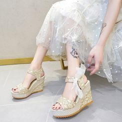 Raylove - Wedge Platform Sandals