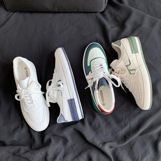 YERGO - Lace Up Platform Sneakers