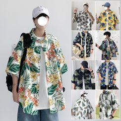 Besto - Print Short-Sleeve Shirt (Various Designs)