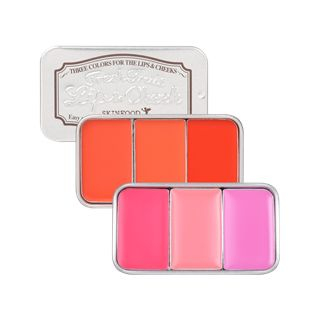 SKINFOOD - Fresh Fruit Lip & Cheek Trio (6 Colors)