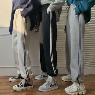 Glitterwood - 側條紋運動褲