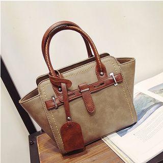Aishang - Buckled Shoulder Bag