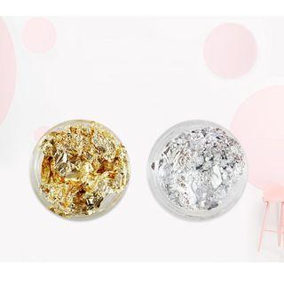 Monoe - Gold Foil Nail Art Decoration