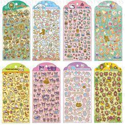 Sanrio 三丽鸥 - 烫金贴纸 - 20 款