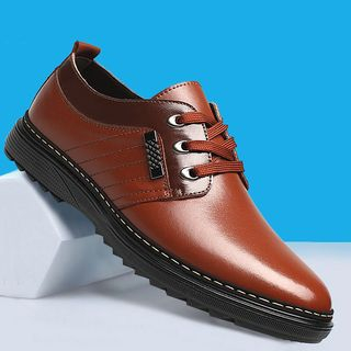 TYCOON - Faux Leather Oxfords