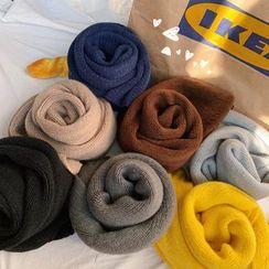 Real Boy - Plain Knit Scarf