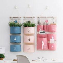 Home Simply - 布藝印花收納掛袋