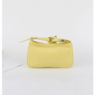 Mimosa - Faux Leather Shoulder Bag