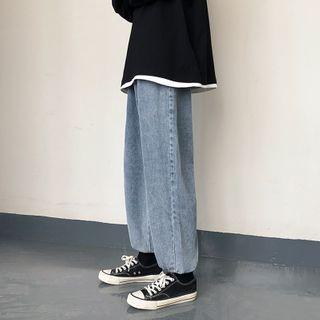 BORGO - Crop Harem Jeans