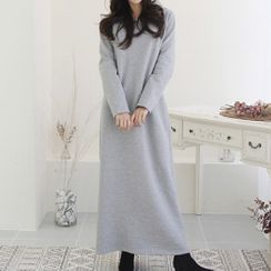 Oscuro - Maxi Hoodie Dress