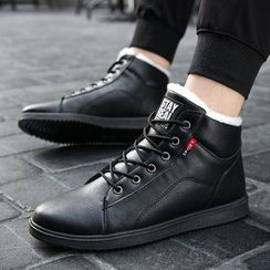 Viffara - Lace Up Short Boots
