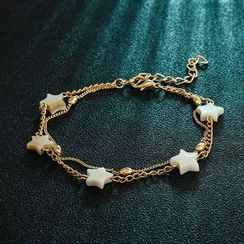 Yongge - Acrylic Star Layered Anklet