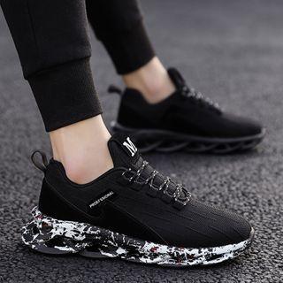 HANO - 厚底针织休閒鞋