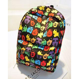 薇薇 - 印花帆布背包