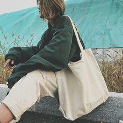 KINGI - 純色帆布手提袋