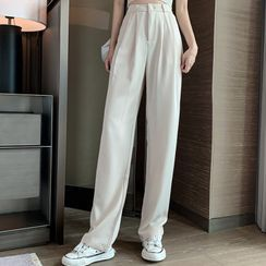 Only Here - Wide-Leg Dress Pants
