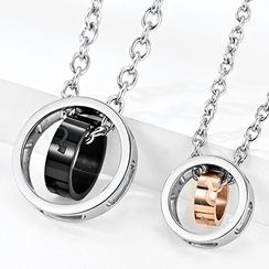 Andante - Stainless Steel Pendant Necklace