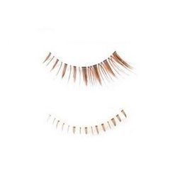 Big Beaute - Set: 3 Pairs Upper False Eyelashes + 2 Pairs Lower False Eyelashes (Coffee)
