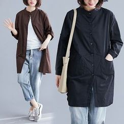 Inkblot - Long-Sleeve Long Shirt