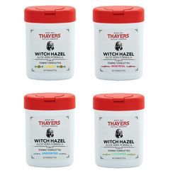 THAYERS - Witch Hazel With Aloe Vera Toning Towelettes, 30ct (4 Types)