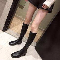 Alisse - 低跟高身靴