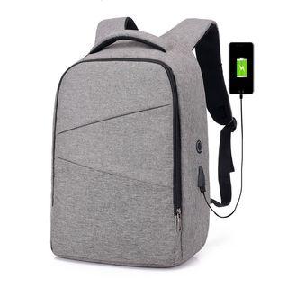 BAGSHOW - USB Port Laptop Backpack