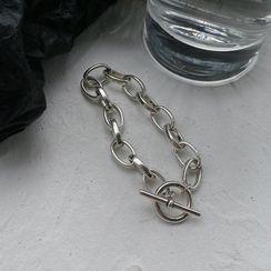 Henya - Chunky Chain Alloy Bracelet