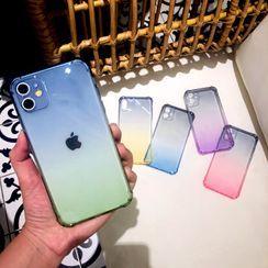 NISI - Gradient Transparent Phone Case - iPhone 11 Pro Max / 11 Pro / 11 / SE / XS Max / XS / XR / X / 8 / 8 Plus / 7 / 7 Plus / 6s / 6s Plus