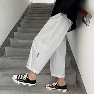 Tiaota - Cropped Straight Fit Pants