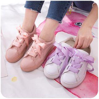 默默爱 - 蕾丝鞋带