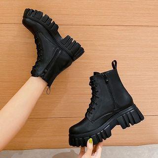 QQ Trend(キューキュートレンド) - Platform Short Boots
