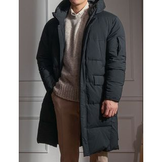 STYLEMAN - Hooded Long Duck Down Padded Jacket