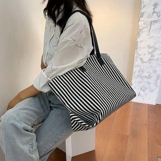 NewTown - Striped Tote Bag