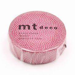 mt - mt Masking Tape : mt 1P Sharkshin pattern Cherry