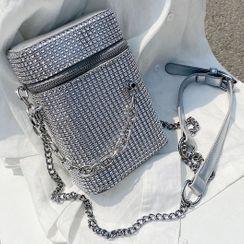 NewTown - Rhinestone Crossbody Bag
