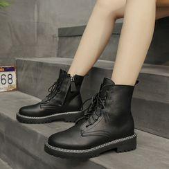 MARTUCCI - Lace Up Short Boots