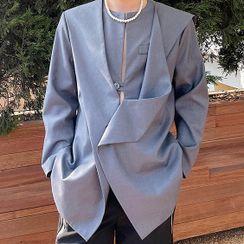 Citigleam - Asymmetrical Blazer