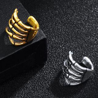 Soosina - 不锈钢手掌开口戒指