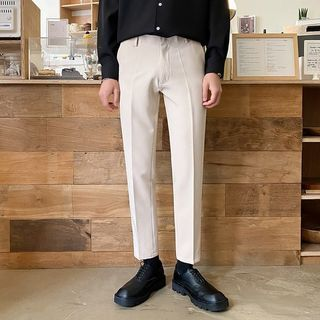 Seoul Homme - Straight-Cut Dress Pants in 2 Lengths