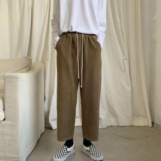 VEAZ - Corduroy Slim-Fit Pants
