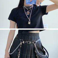 Sayaka - 鏈條腰帶 / 貼脖項鏈