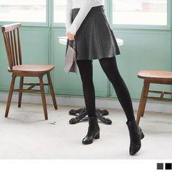 OrangeBear - Pleated A-Line Skirt