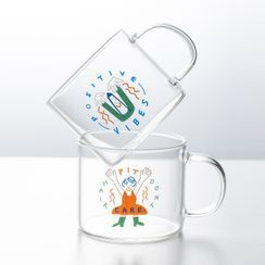 Modern Wife - Cartoon Glass Mug