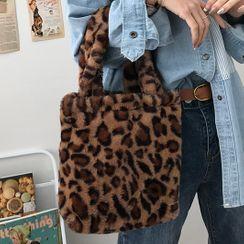 Geolte - Mini Fluffy Tote Bag