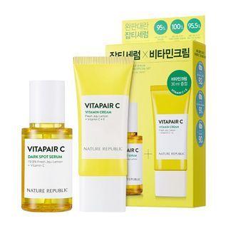NATURE REPUBLIC - Vitapair C Dark Spot Serum With Vitamin Cream Special Set