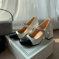 DURAC - Block Heel Mary Jane Shoes