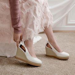 JY Shoes - Platform Wedge Sandals